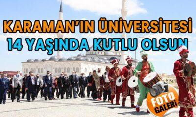 Karaman'ın Üniversitesi 14 Yaşında