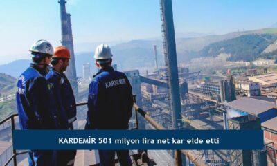 KARDEMİR 501 milyon lira net kar elde etti