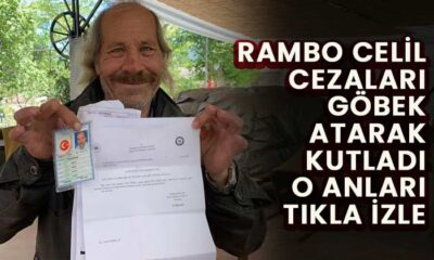 Rambo Celil ceza yedi göbek attı