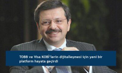 TOBB ve Visa KOBİ'lerin dijitalleşmesi için yeni bir platform hayata geçirdi