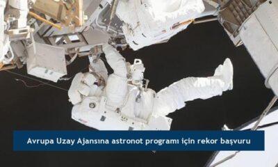 Avrupa Uzay Ajansına astronot programı için rekor başvuru