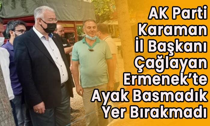 AK Parti Ermenek'e çıkarma yaptı
