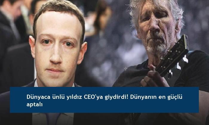 Dünyaca ünlü yıldız CEO'ya giydirdi! Dünyanın en güçlü aptalı