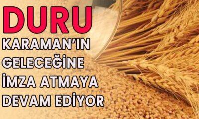 DURU Karaman'ın geleceğine imza atmaya devam ediyor