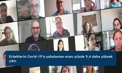 Erkeklerin Covid-19'a yakalanma oranı yüzde 9,4 daha yüksek çıktı