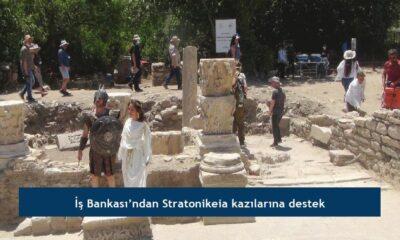 İş Bankası'ndan Stratonikeia kazılarına destek