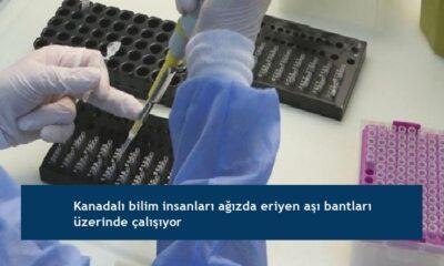 Kanadalı bilim insanları ağızda eriyen aşı bantları üzerinde çalışıyor