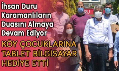 İhsan Duru Karamanlıların duasını almaya devam ediyor