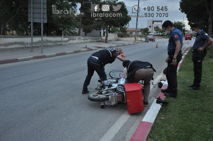 Karaman'da kız çocuğu ağır yaralandı