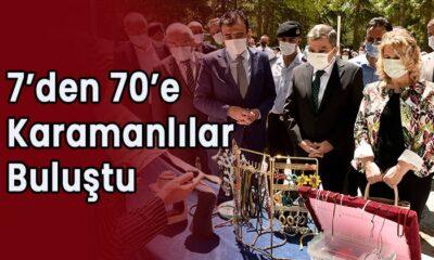 7'den 70'e Karamanlılar buluştu