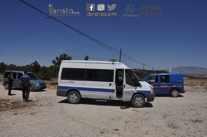 Karaman'da 18 kişi otobüsten inip kaçtı!