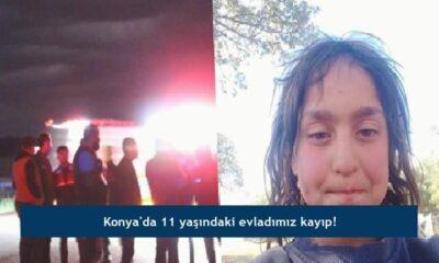 Konya'da 11 yaşındaki evladımız kayıp!
