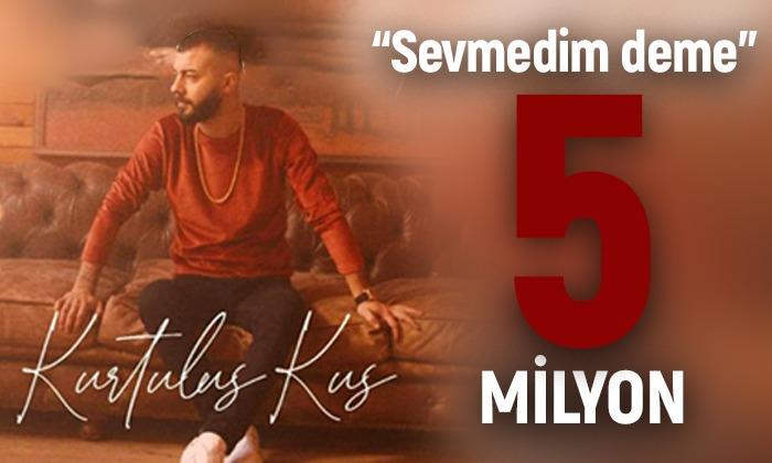 Karamanlı Şarkıcı Kurtuluş KUŞ yine trendlerde 1 numara