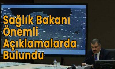 Sağlık Bakanı ÖNEMLİ açıklamalarda bulundu