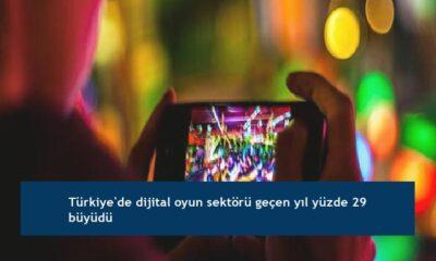 Türkiye'de dijital oyun sektörü geçen yıl yüzde 29 büyüdü