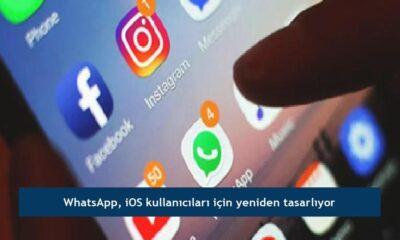 WhatsApp, iOS kullanıcıları için yeniden tasarlıyor