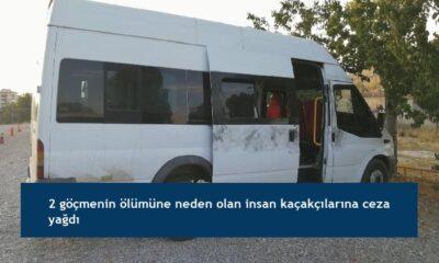 2 göçmenin ölümüne neden olan insan kaçakçılarına ceza yağdı