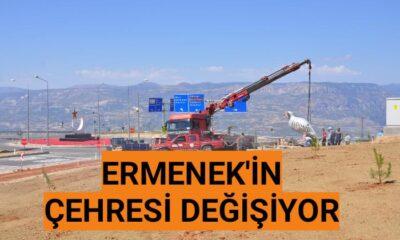 Ermenek'in çehresi değişiyor