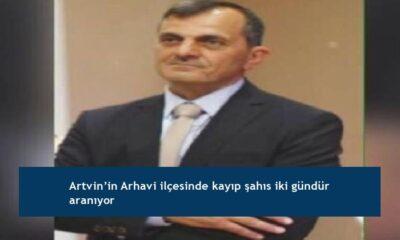 Artvin'in Arhavi ilçesinde kayıp şahıs iki gündür aranıyor
