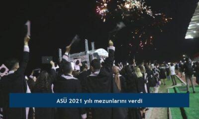 ASÜ 2021 yılı mezunlarını verdi