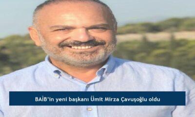 BAİB'in yeni başkanı Ümit Mirza Çavuşoğlu oldu