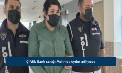 Çiftlik Bank sanığı Mehmet Aydın adliyede