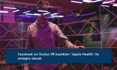 Facebook'un Oculus VR başlıkları 'Apple Health' ile entegre olacak