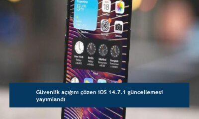 Güvenlik açığını çözen iOS 14.7.1 güncellemesi yayımlandı