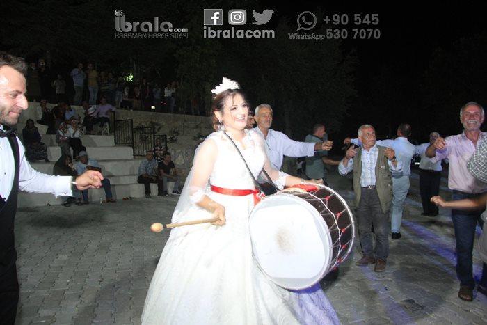 Karaman'da bir ilginç düğün