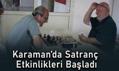 Karaman Satranç etkinlikleri başladı