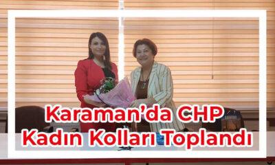 CHP İl Kadın Kolları pandemi döneminindeki çalışmalarını anlattı