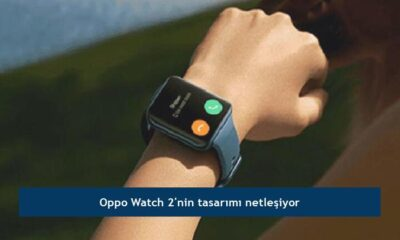 Oppo Watch 2'nin tasarımı netleşiyor