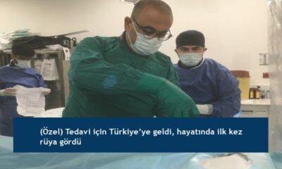 (Özel) Tedavi için Türkiye'ye geldi, hayatında ilk kez rüya gördü