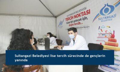 Sultangazi Belediyesi lise tercih sürecinde de gençlerin yanında