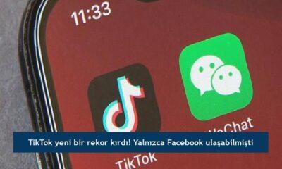 TikTok yeni bir rekor kırdı! Yalnızca Facebook ulaşabilmişti