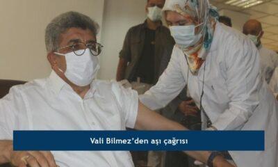 Vali Bilmez'den aşı çağrısı
