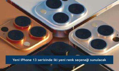 Yeni iPhone 13 serisinde iki yeni renk seçeneği sunulacak