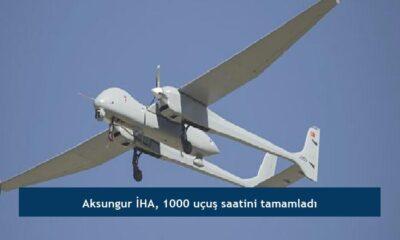 Aksungur İHA, 1000 uçuş saatini tamamladı