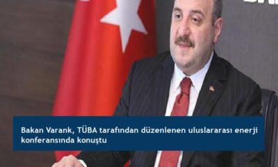 Bakan Varank, TÜBA tarafından düzenlenen uluslararası enerji konferansında konuştu