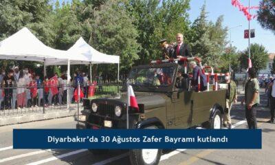 Diyarbakır'da 30 Ağustos Zafer Bayramı kutlandı