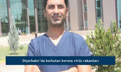 Diyarbakır'da korkutan korona virüs rakamları