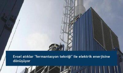 """Evsel atıklar """"fermantasyon tekniği"""" ile elektrik enerjisine dönüşüyor"""