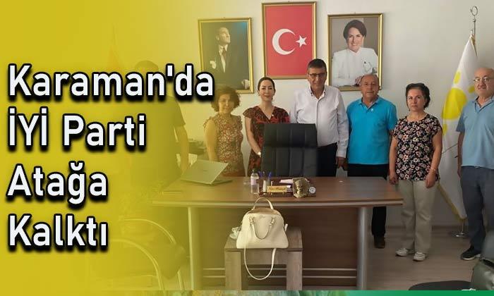 Karaman'da İYİ parti atağa kalktı