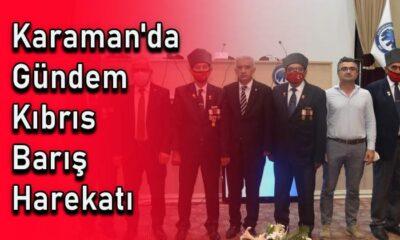 Karaman'da gündem Kıbrıs Barış Harekatı