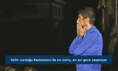 Selin vurduğu Kastamonu'da en zorlu, en acı gece yaşanıyor