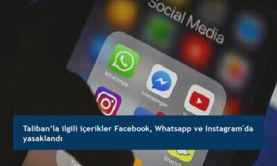Taliban'la ilgili içerikler Facebook, Whatsapp ve Instagram'da yasaklandı