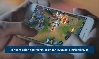 Tencent gelen tepkilerin ardından oyunları sınırlandırıyor