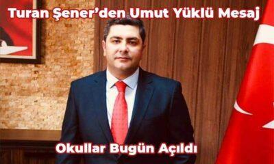 Turan Şener'den umut yüklü mesaj