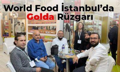 World Food İstanbul'da Golda Rüzgarı