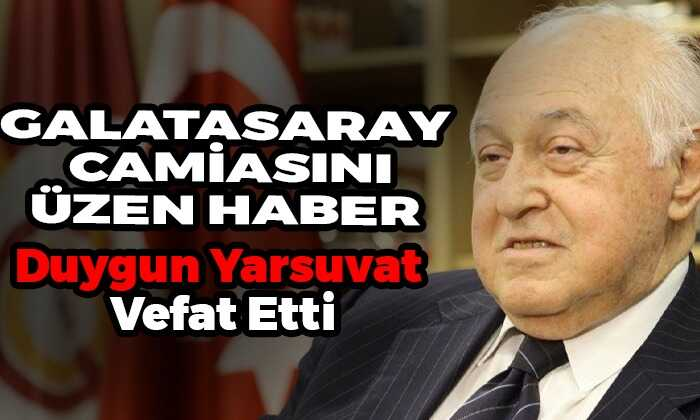 Galatasaray Camiasını Üzen Haber!
